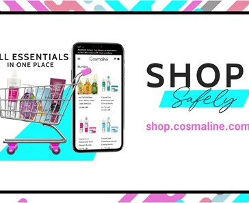COSMALINE LAUNCHES E-STORE WITH DELIVERY SERVICES NATIONWIDE